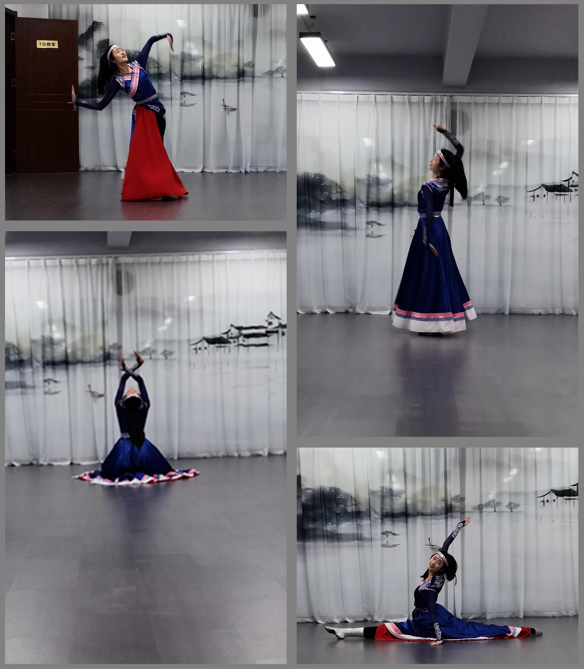 c (1)精彩的舞蹈才艺,博人眼球